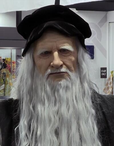 Japonlar Leonardo da Vinci'nin robotu üretti