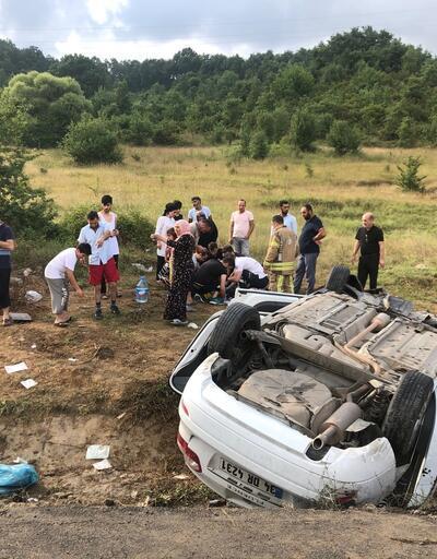 Şile'de feci kaza: 8 yaralı
