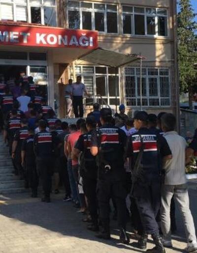 Mersin'de uyuşturucu operasyonu: 25 gözaltı