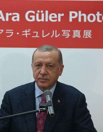 Son dakika... Cumhurbaşkanı Erdoğan, Kyoto'daki Ara Güler Sergisi'nin açılışında konuştu