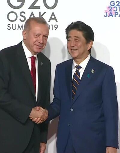 Erdoğan'ın Japonya temasları