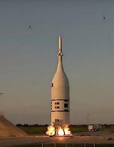 NASA, Orion uzay aracının tahliye testini gerçekleştirdi