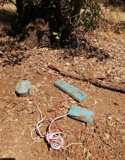 Siirt'te PKK'lıların tuzakladığı el yapımı patlayıcılar imha edildi
