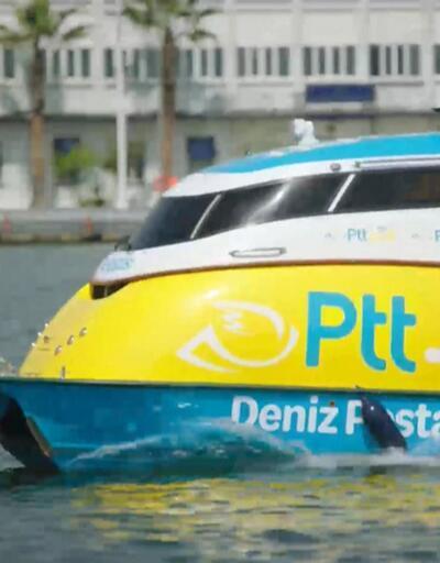 PTT'de 'Deniz Postası' uygulaması başladı