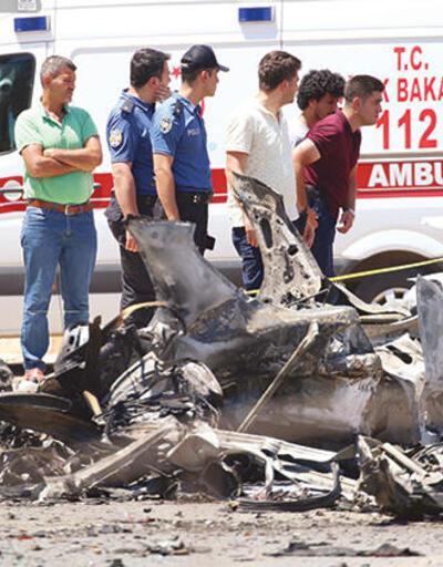 Reyhanlı'da ürküten ihtimal: Hedefe giderken patladı!