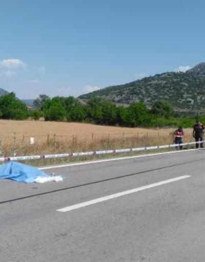 Ağlasun'da kaza: 1 ölü