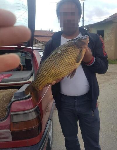 Yasak olduğu dönemde balık avladı, para cezası kesildi