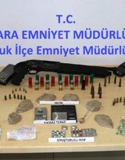 Ankara'da uyuşturucu operasyonuna 8 tutuklama