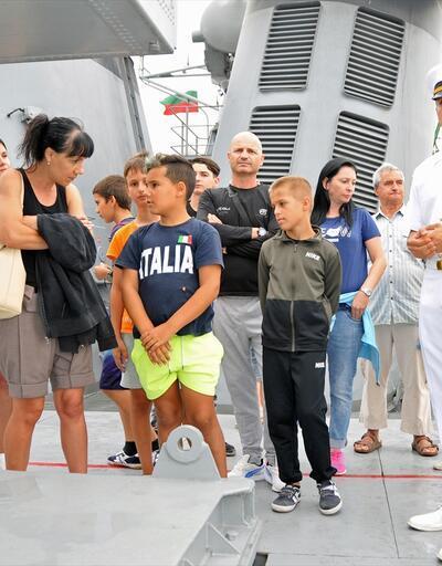 Bulgaristan'da NATO tatbikatı! Türk gemisi dikkat çekti