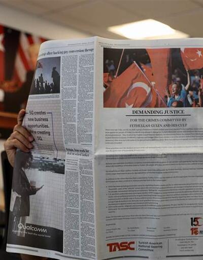 """Washington Post'ta """"15 Temmuz"""" ilanı"""