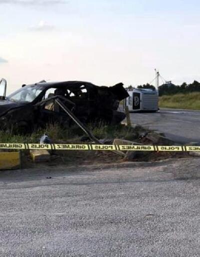 Eskişehir'de kaza: 3 ölü, 6 yaralı