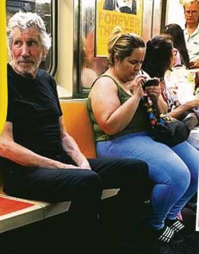 Metroda bir yıldız