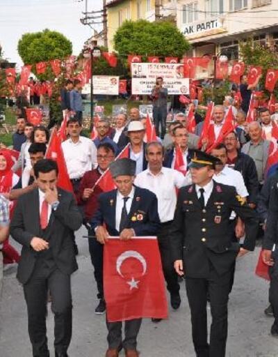 Harmancık'ta 15 Temmuz töreni