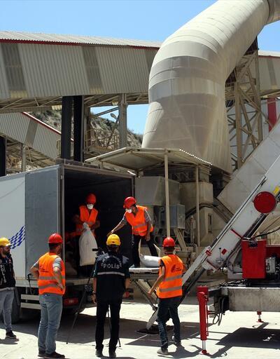 4 ton 828 kilogram uyuşturucu fabrika kazanında imha edildi