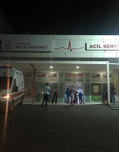 Tekirdağ'da gıda zehirlenmesi şüphesi: 45 kişi tedavi altına alındı