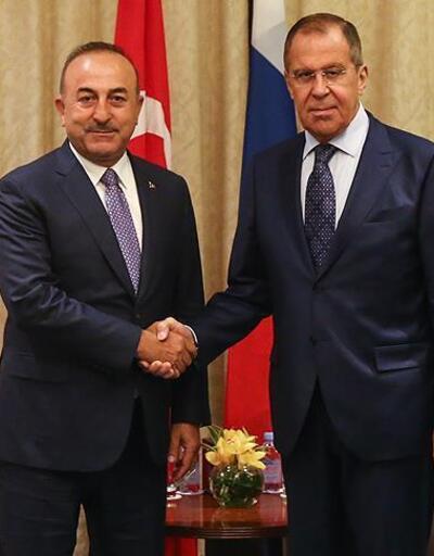 Çavuşoğlu, Rusya Dışişleri Bakanı Lavrov'la görüştü