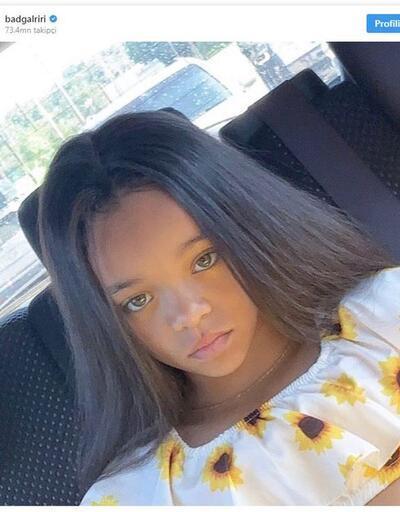 Rihanna'ya tıpatıp benzeyen 7 yaşındaki kız çocuğu sosyal medyayı salladı!