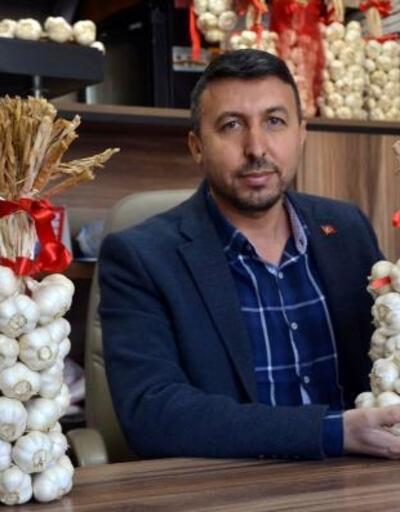 Taşköprü'de sarımsak 17 liradan satıldı
