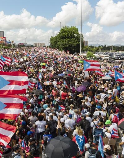 Porto Riko Valisi istifa edeceğini açıkladı