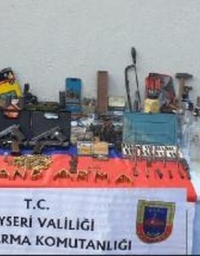 Tabanca imalat ve tamircisi tutuklandı