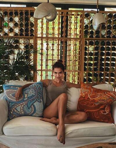 Biran Damla Yılmaz, bikinili fotoğrafıyla büyüledi!