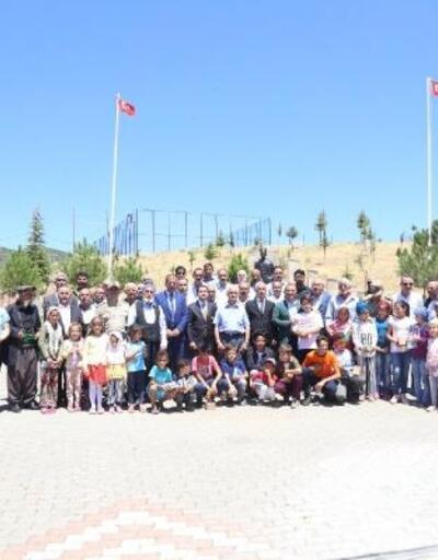 Tunceli'de 12 şehit için anıt