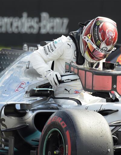 Almanya'da ilk sıra Lewis Hamilton'ın