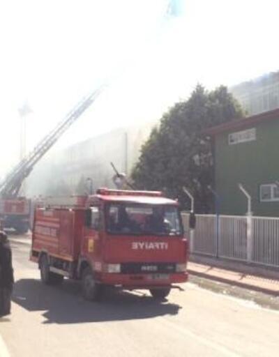 Beyşehir'de silah fabrikasında yangın