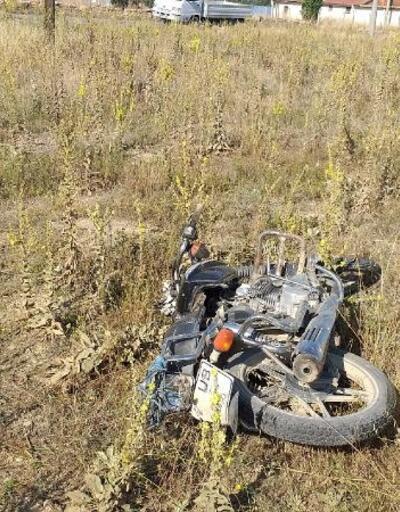 TIR'ın çarptığı motosikletteki çocuklardan biri öldü, diğeri yaralı