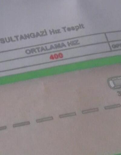 400 km hız cezası