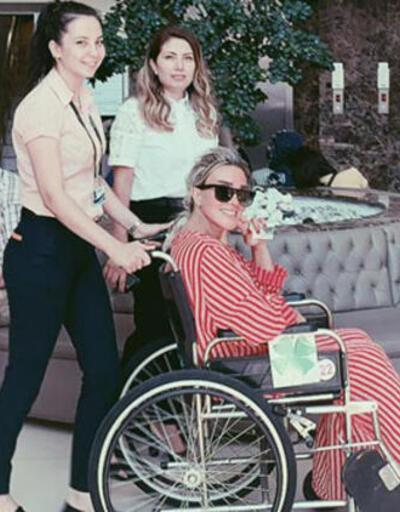 1.5 ay tekerlekli sandalye kullanacak