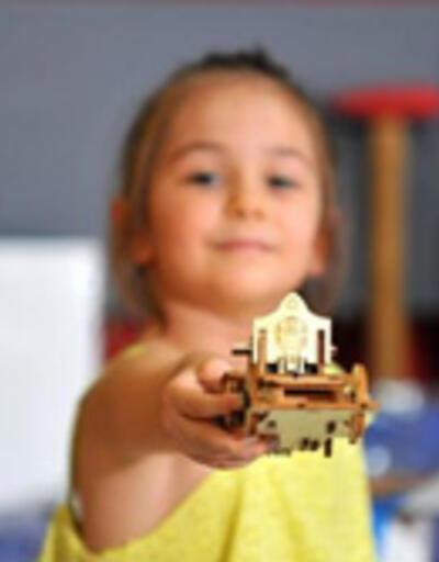 Çocuklar robot üretiyor