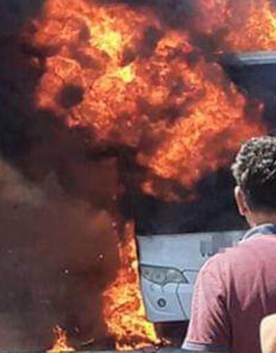 Balıkesir'de yolcu otobüsü yandı: 5 ölü