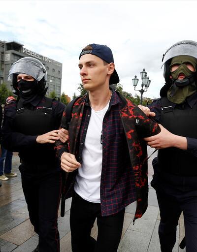 Rusya'da 89 kişiye gözaltı