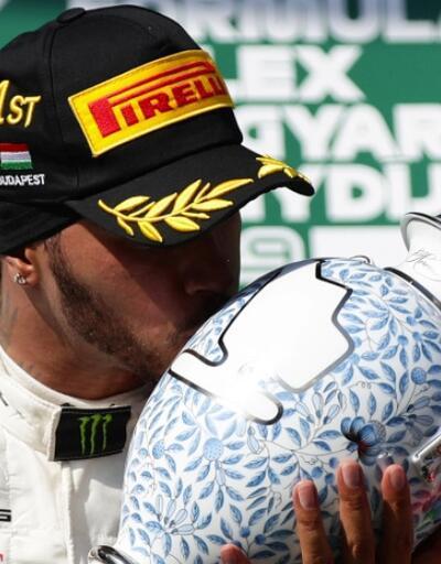 Lewis Hamilton'ın 8. zaferi