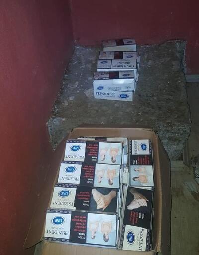Alaplı'da sigara operasyonu