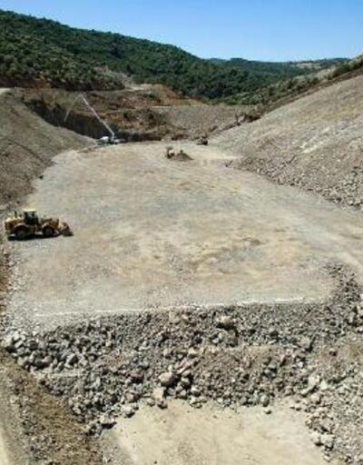 Musacalı Barajı'nda gövde dolgusuna başlandı