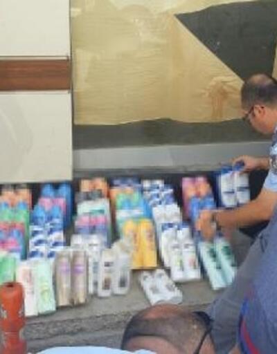 İzmir'de sahte şampuan operasyonu