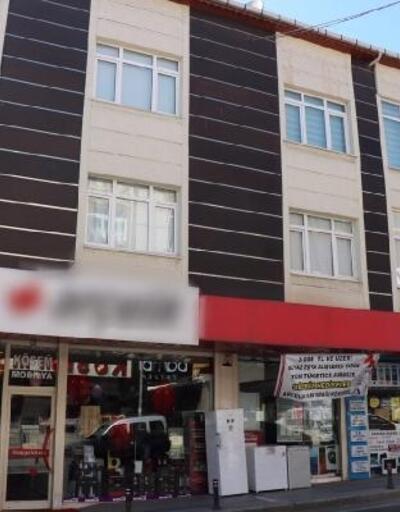 Ataşehir'de  temizlikçi kadının 4. kattan  düşme anı kamerada