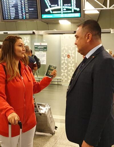 Tarihe geçti: Rusya'ya vizesiz ilk Türk yolcu giriş yaptı