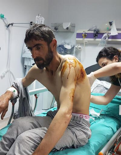 Ayı saldırısında yaralandı, 12 saat sonra helikopterle alındı