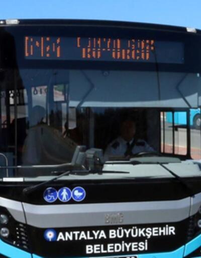 Antalya'da toplu taşımaya zam
