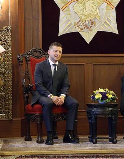 Ukrayna Devlet Başkanı Zelenskiy, Fener Rum Patrikhanesi'ni ziyaret etti