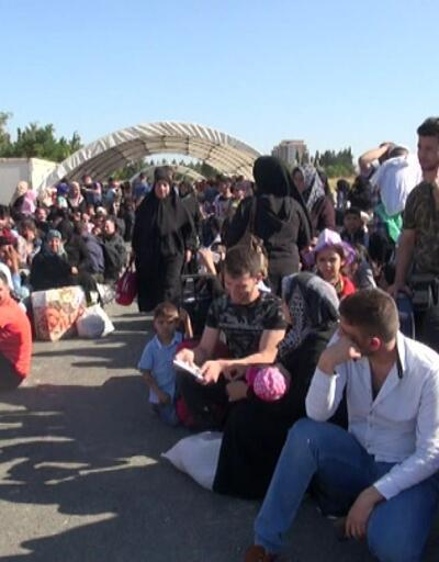 Bayramlaşmaya giden Suriyeli sayısı 40 bine ulaştı