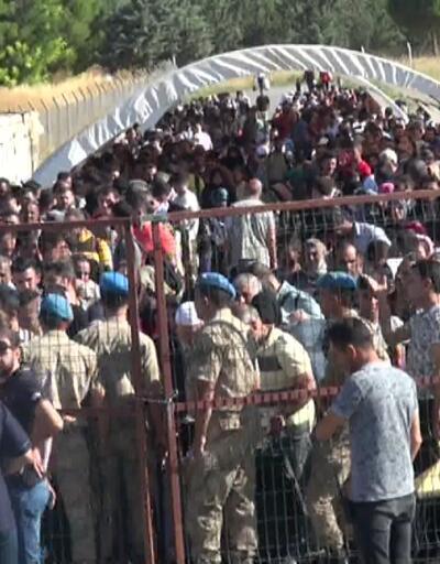 Suriyeliler bayram yolunda