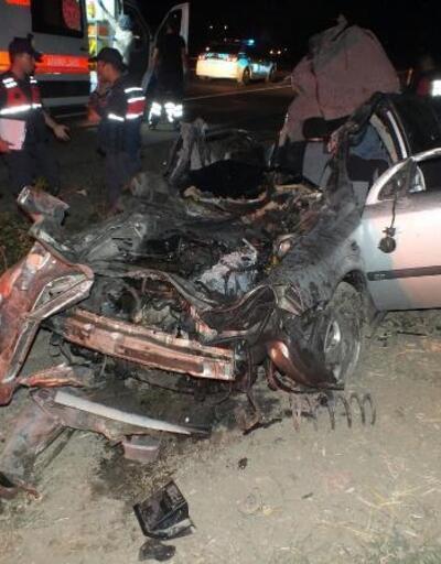 Yozgat'ta zincirleme kaza: 2 ölü, 5 yaralı