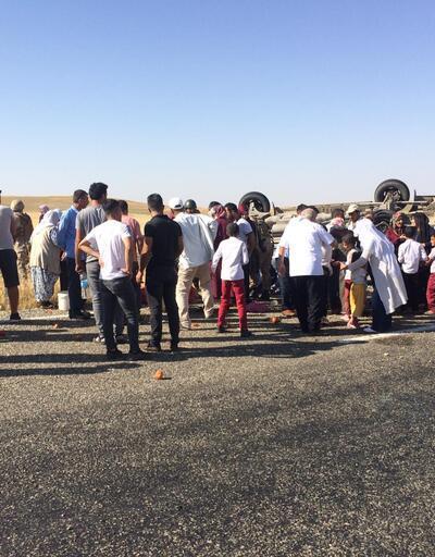 Türbe ziyareti yolunda kaza: 11 yaralı