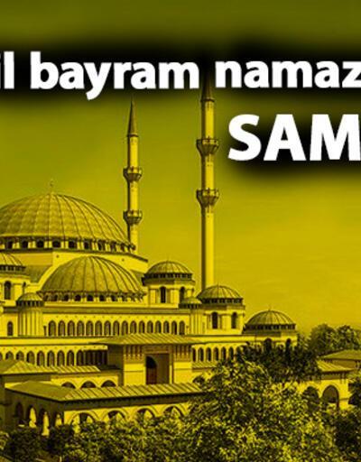 Samsun bayram namazı saati – 2019 Kurban Bayramı namazı saati