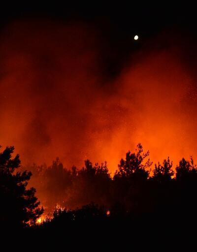 Gelibolu Yarımadası'nda yangın! Bölgeye çok sayıda ekip sevk edildi