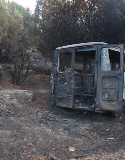 Son dakika...Marmara Adası yangınıyla ilgili 1 kişi gözaltında